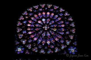 Stained-Glass-Notre-Dame-Paris-France-The-South-Rose-Window